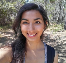 Celeste Espino, a former Wetland Steward and a graduate of the Wetlands Watch Green Careers Program, is now a student at CSU Monterey Bay.